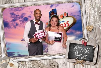 Mickey & Marie Weddding