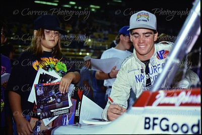 1991 MTEG Las Vegas - 17 SL Jimmie Johnson Autograph Session