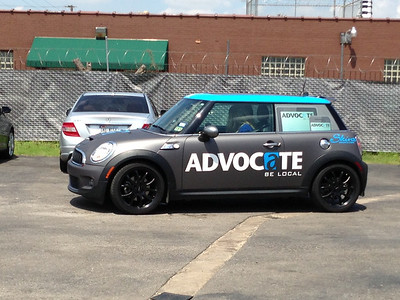 Advocate, Mini Cooper, Matte Black, Dallas, TX