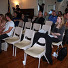 The audience listens intently as Stephen Szabo delivers his address.
