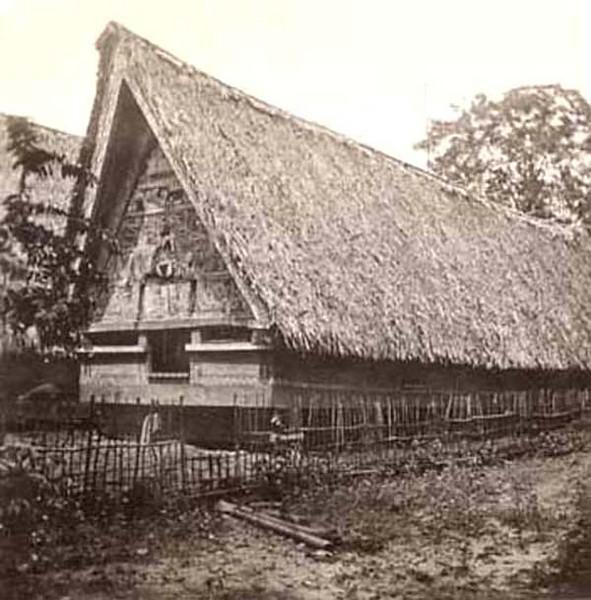 House on Koror, Palau (Kurt Boeck, 1900)