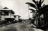 On Pohnpei, a street scene in downtown Kolonia, circa 1930
