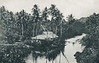 Pohnpei during the period of Japan's South Seas Mandate:  Large house on a river