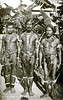 This photograph of three Yapese men appears on an old postcard from the period of Japan's South Seas Mandate, which was granted by the League of Nations following World War I and formally revoked by the United Nations in 1947.