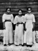 Three Chamorro girls on Saipan, 1921 (Junius B. Wood)