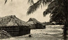 A village on Mili Atoll in the Marshalls, during the period of Japan's South Seas Mandate, circa 1930