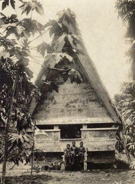 Palauan meeting house (early 1920s)