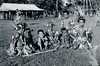 Yap, 1960:  Photograph by Edward Quackenbush showing a group of children on an elementary school graduation day