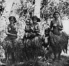 In Tomil on Yap, a group of women and children (Junius B. Wood, 1921)