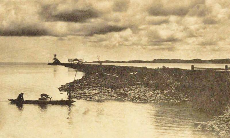 Koror wharf (1920s)