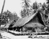U.S. Navy photo of houses on Fassarai (Fadarai), Ulithi, taken in November 1944.