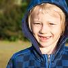 Portrait of boy with missing teeth