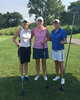 Erin Carney, Kayla Eckelkamp, Mindy Coyle getting ready to tee off!