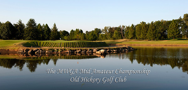 The 2nd MWGA Mid Amateur Championship was held at Old Hickory Golf Club in St. Peters MO during July 23-24th, 2012.  The Championship was a 36 hole stroke play event played at 5559 yards, par 72.  This year, an Open Division was added to the event and was played at 5024 yards, par 72.