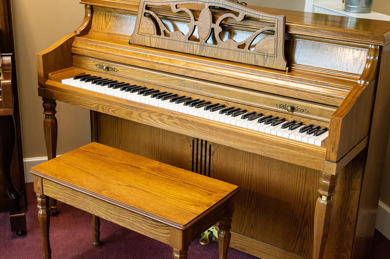 Mid-America Piano was opened 32 years ago in 1986 by Dan and Diane Murphy. Dan has played piano since he was 8 years old and has always been passionate about providing his customers with the best piano for each person's style. (Brooke Barrett | Collegian Media Group)
