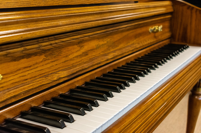 Mid-America Piano provides unique pianos that are fitting for all ages, styles, and levels of expertise. The owners are proud to share that their central location has allowed them to place pianos all over the United State as well as in Canada, Mexico, and even Africa! (Brooke Barrett | Collegian Media Group)