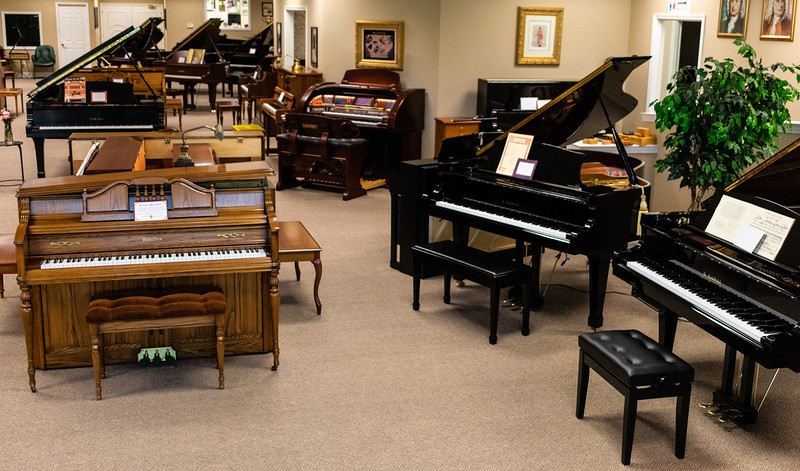 Mid-America Piano has been open for 32 years. 16 of those years it has been in its current location off of Bill Snyder Highway right outside of the Manhattan entrance. Whether you're a beginner or an expert, Mid-America Piano is the place to shop for high-quality pianos while receiving great customer service. (Brooke Barrett | Collegian Media Group)