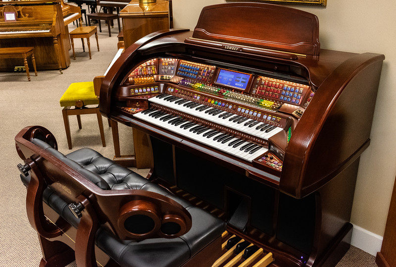 Mid-America Piano was opened in August of 1986 by Dan and Diane Murphy. The store provides a wide array of pianos from keyboards to grand pianos! (Brooke Barrett | Collegian Media Group)