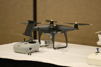 Members of the North Carolina Wing network and explore UAS technologies on Feb. 8, 2019, at the 2019 North Carolina Wing Conference in Greensboro, NC. The Civil Air Patrol conference will continue through Feb. 10, with the highlight event being the awards banquet on Saturday evening. (U.S. Air Force Auxiliary photo by Lt. Col. Robert Bowden)