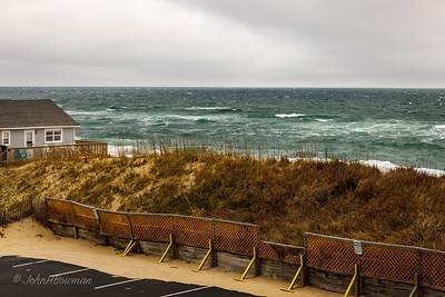 Atlantic Ocean - from Surf Side Hotel, Nags Head