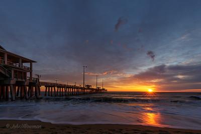 Sunrise at Jennette's Pier - Outer Banks