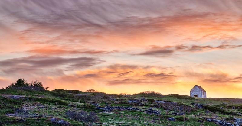 Manana Island Sunset