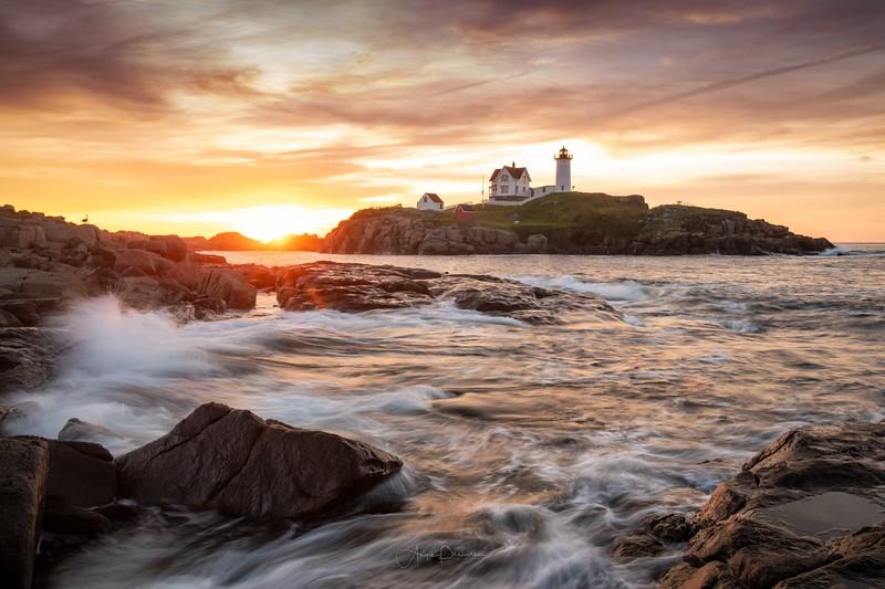 Nubble Lighthouse Sunrise