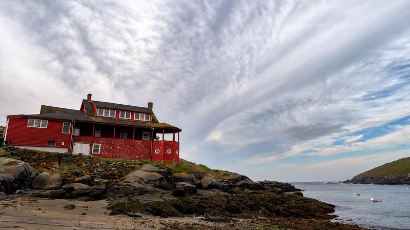 Monhegan Island Red House