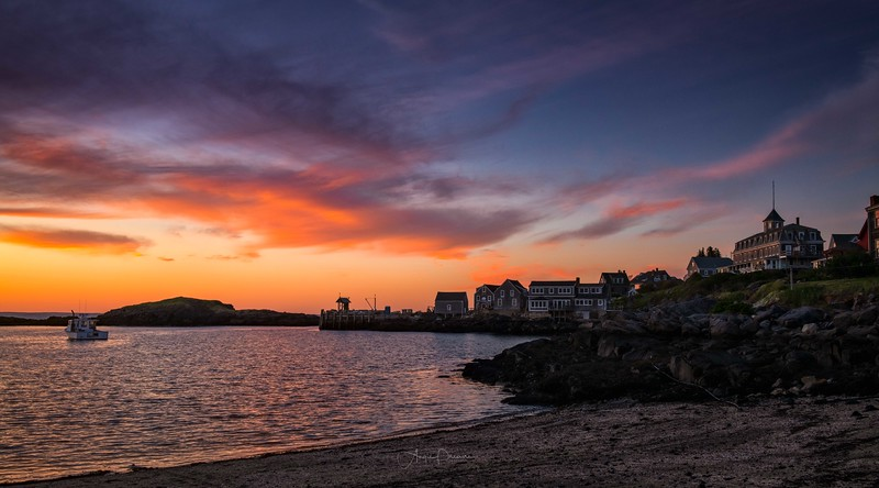 Monhegan Island Sunset