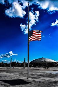 Mid-South Coliseum Flag