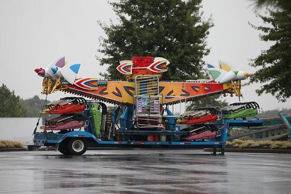 2012 Mid-South Fair - Setting Up