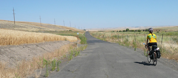 The old road to Adams