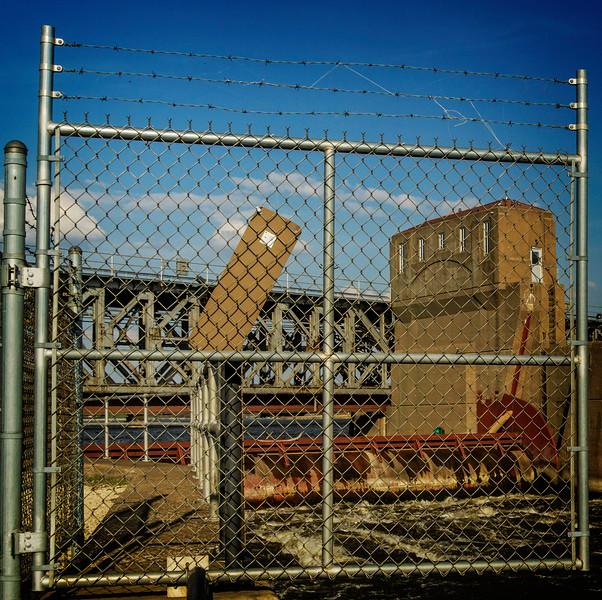 Davenport IA - Dam Behind Bars-