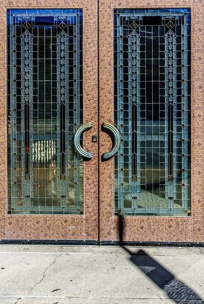 Galesburg IL - Art Deco Doors-00940