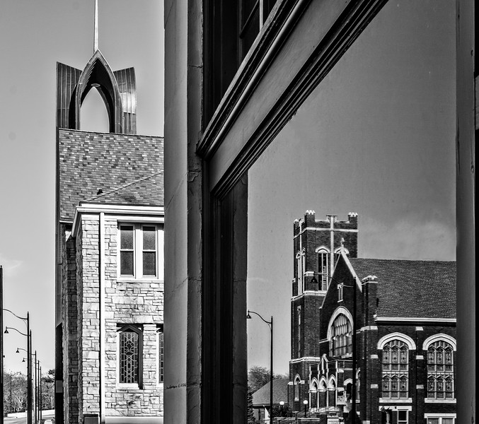 Galesburg IL - Reflections of Churchs-2