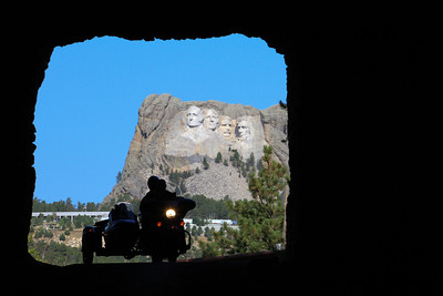 Custer State Park - Iron Mountain Road Tunnel