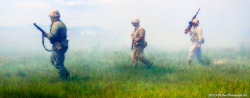 Out of the Smoke - Re-Living History