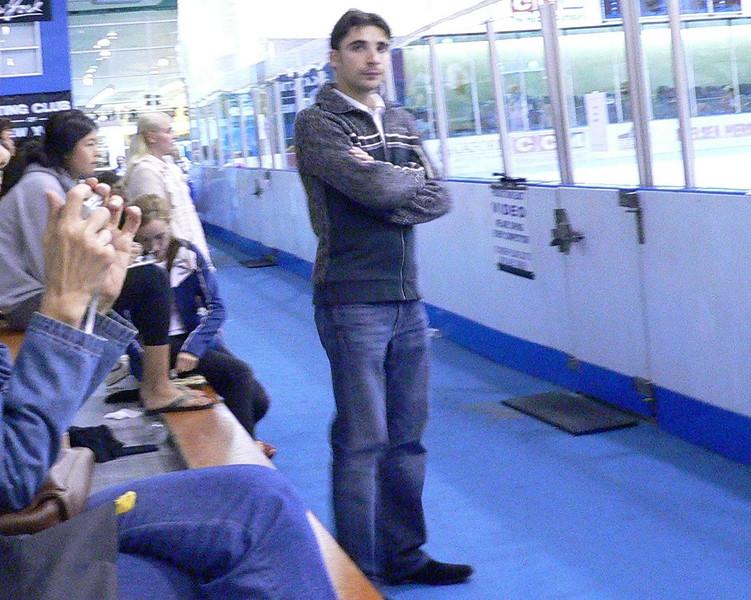 Roman Serov  Elene G's coach