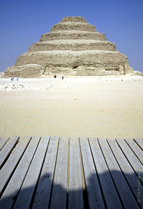 step aerobics step pyramid of zoser, north saqqara