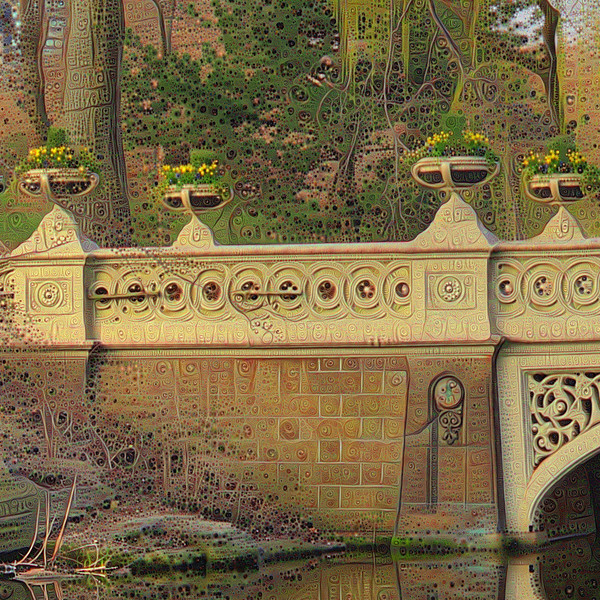 Bow Bridge - Two-Pass Detail #1