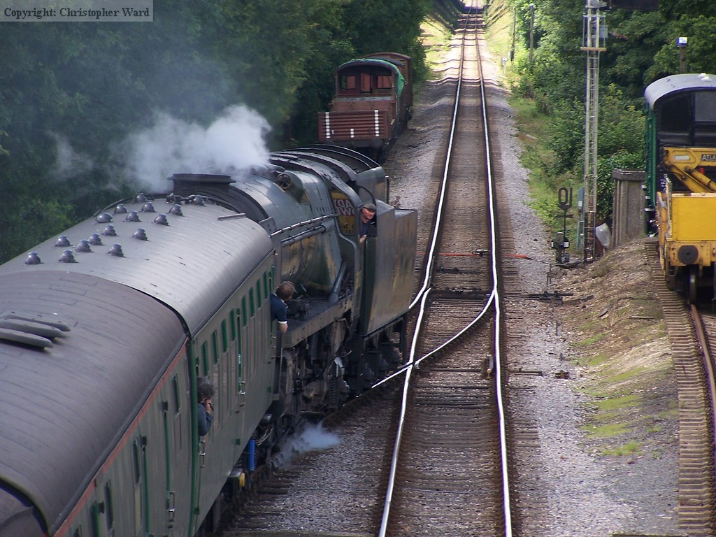 Canadian Pacific departs for Ropley