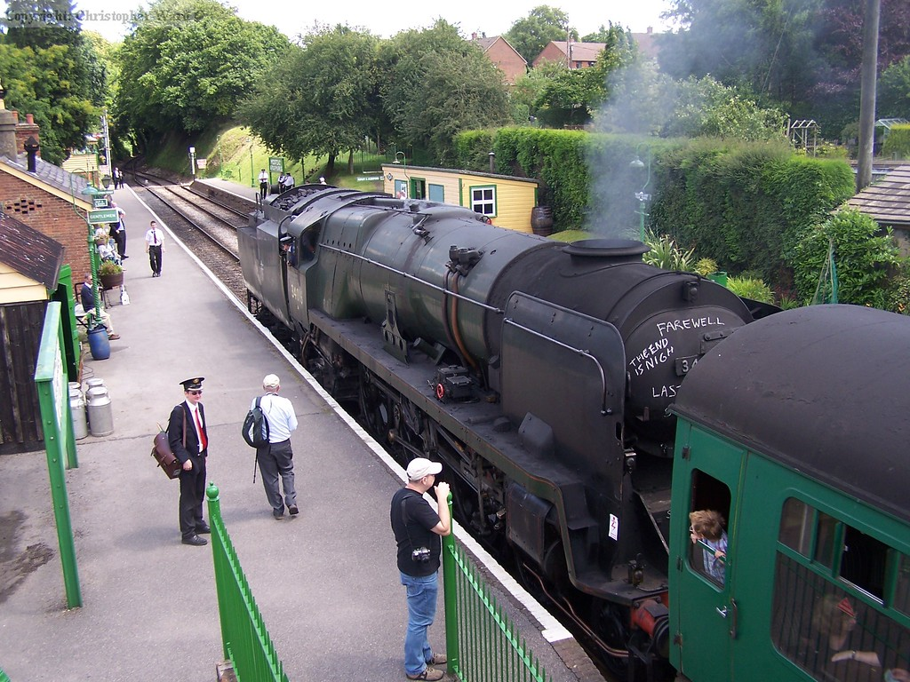 Bodmin with another train