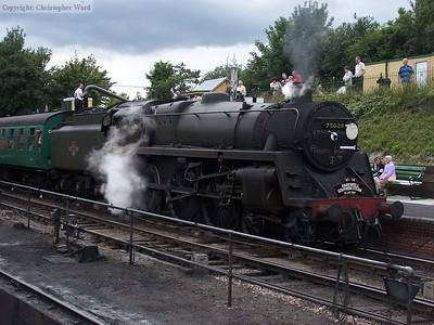73096 sits at Ropley