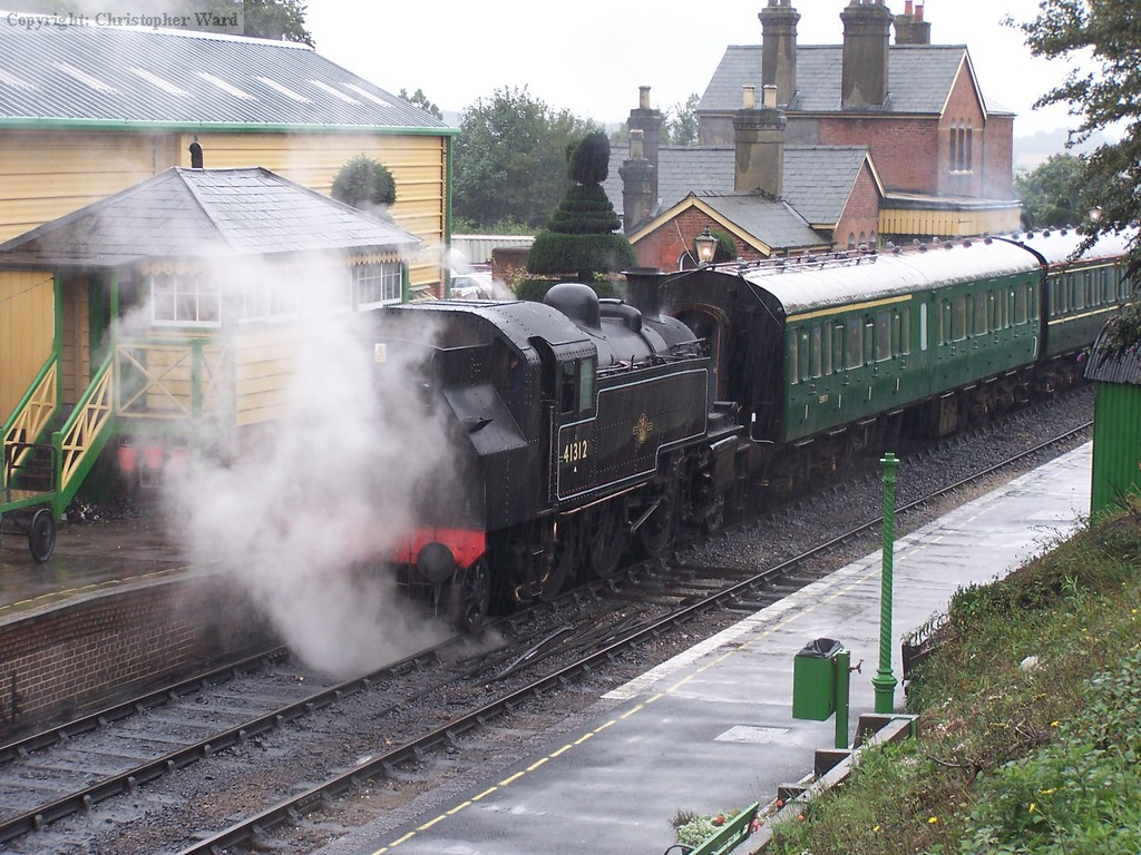 41312 with an Alresford shuttle