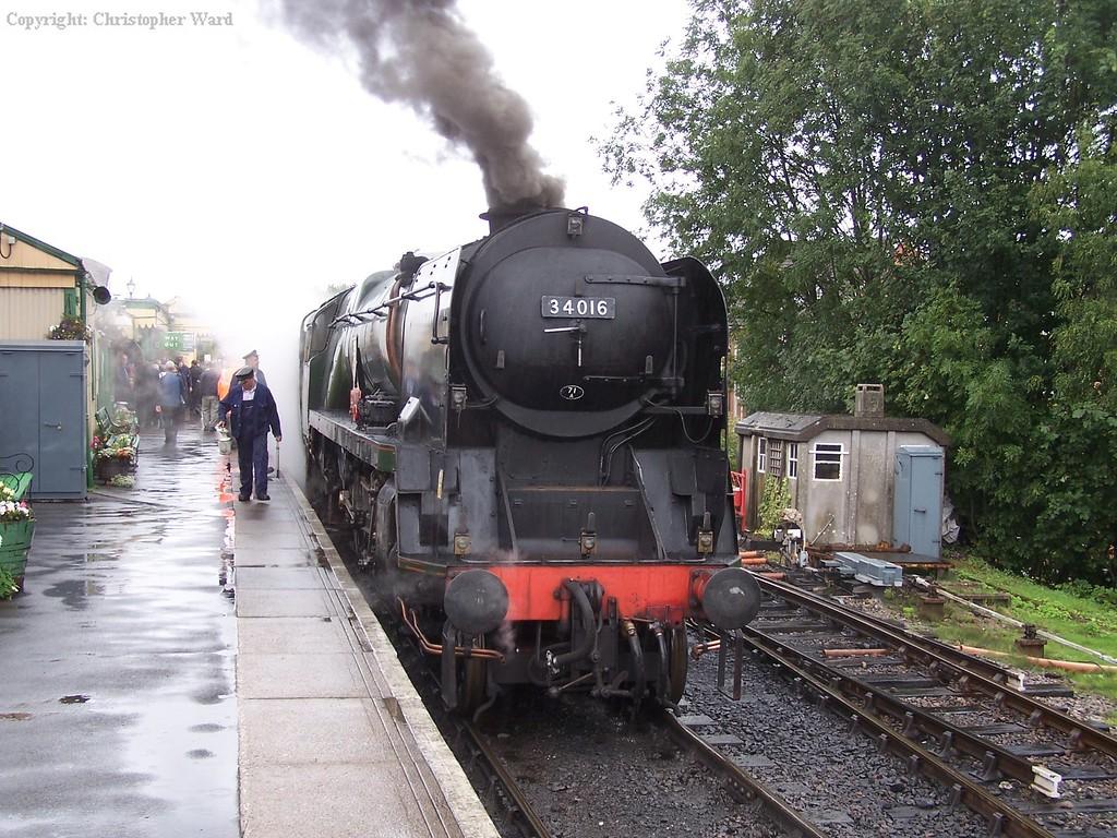 Bodmin steams at Alton