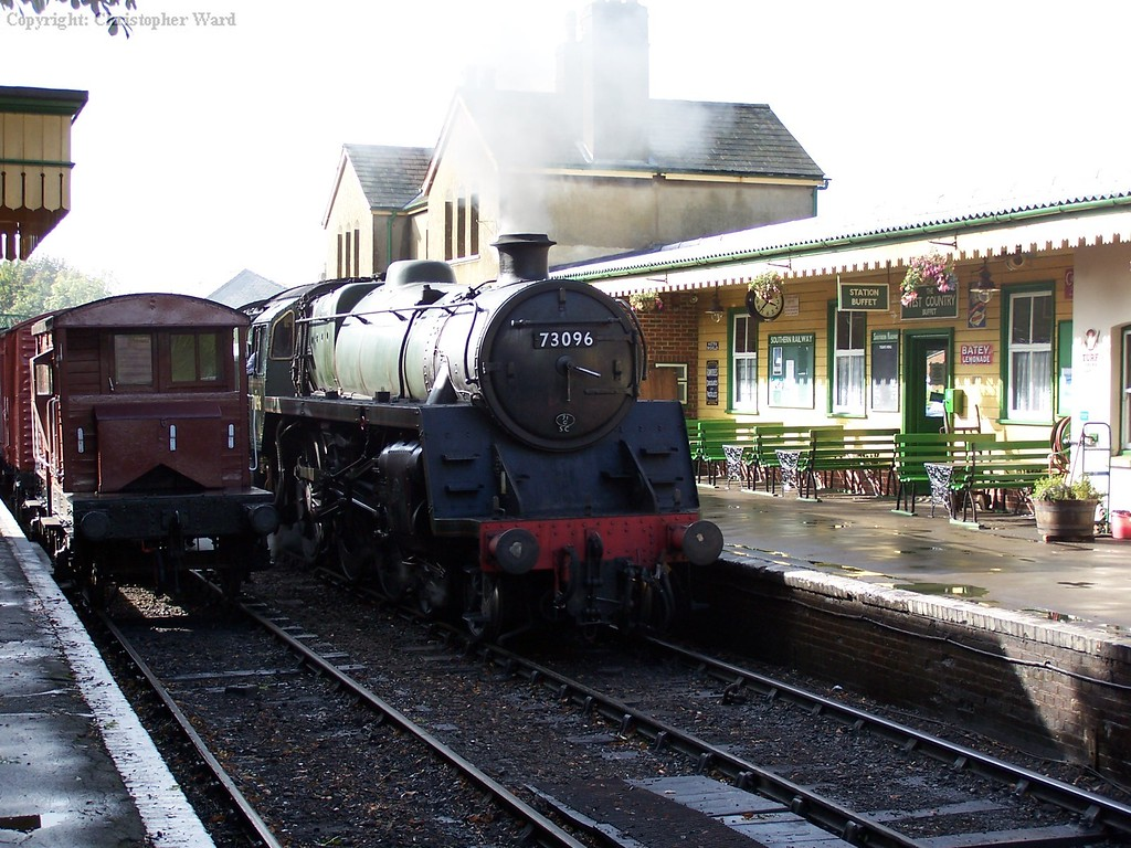 73096 runs through alresford