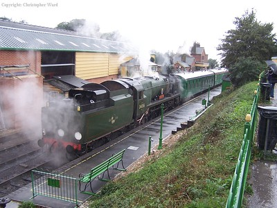 Bodmin at Ropley