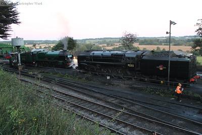 Express passenger meets heavy freight