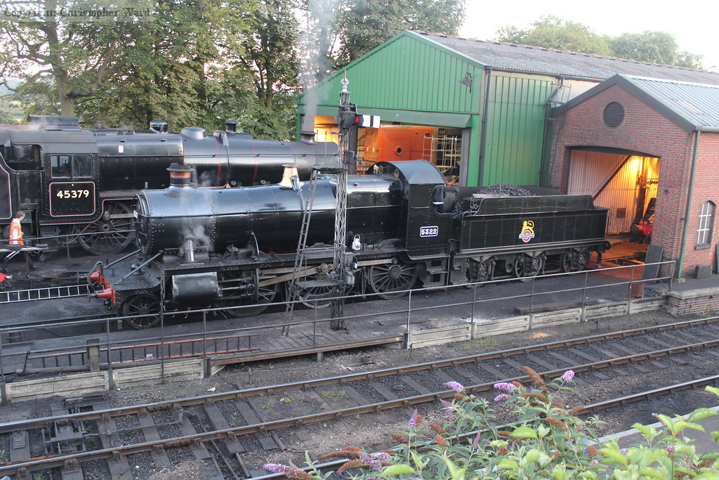 GWR and LMS side by side in the heart of the former Southern Railway