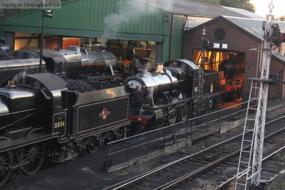 5322 is disposed in front of the wheeldrop as 73096 peers out